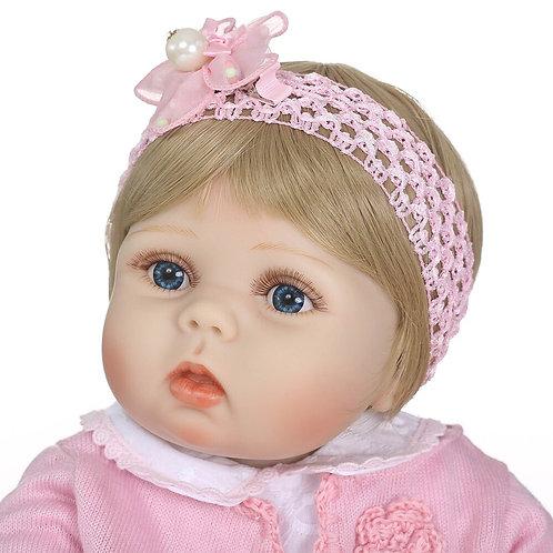 bonecas reborn menina bebê real Pode dar banho