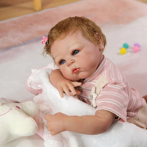bebe real reborn 50 cm perfeito super real
