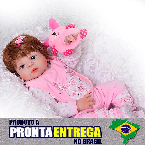 Bebe Reborn envio imediato de Sao Paulo SILICONE