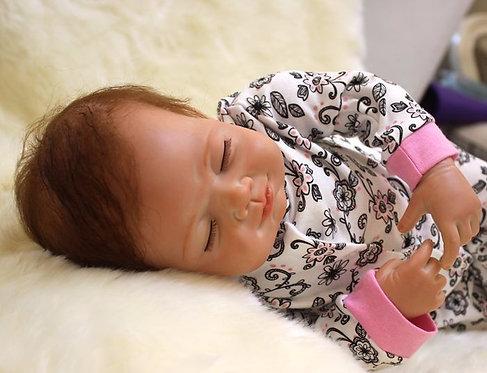bebe reborn dormindo perfeito