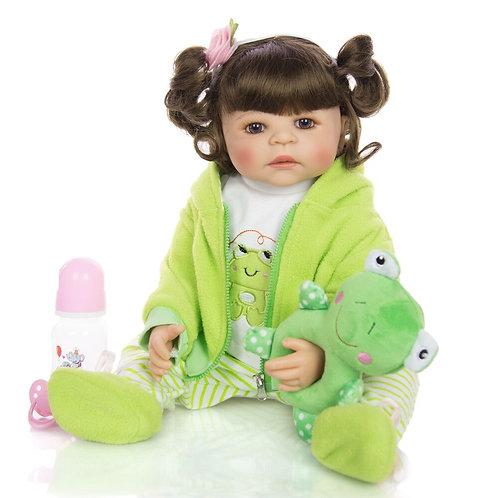 bonecas reborn lindo penteado perfeita