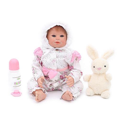 bonecas real reborn arrumadinha linda
