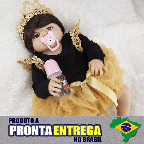Bebe Reborn Menina Princesa