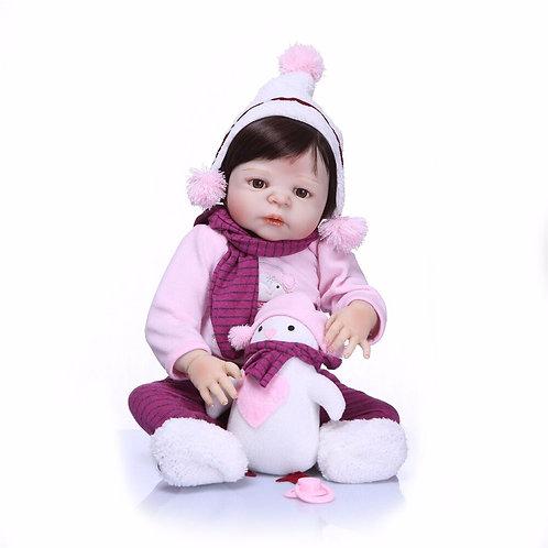 bonecas Reborn  com roupas de inverno