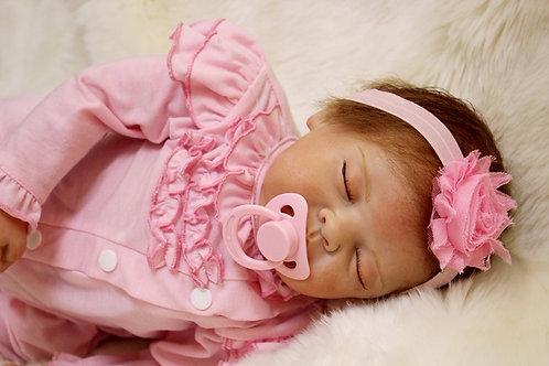 Bonecas reborn bebês reais dormindo