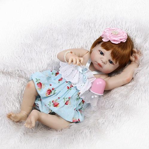 bebe reborn ruiva moranguinho