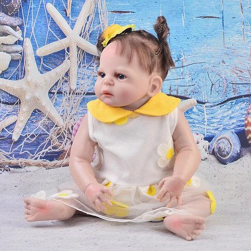 boneca bebe real que parece de verdade