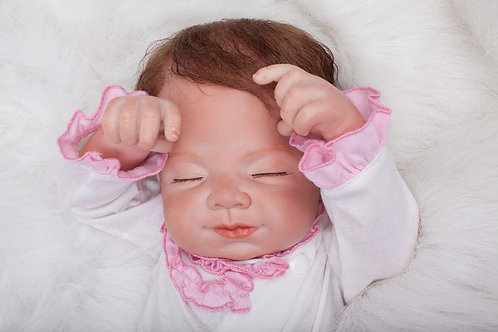 Boneca bebe real reborn realista
