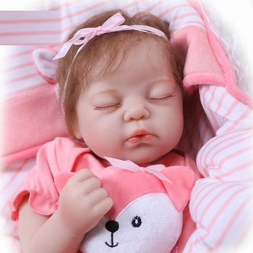 bebe reborn dormindo lindo