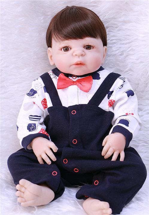 Boneca Bebe Reborn masculino realista lindo