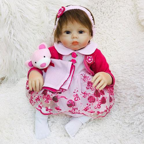 Bebê Reborn recém-nascido Presente para criança Realista