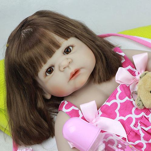 boneca bebe reborn TODA EM VINIL SILICONADO Maravilhosa