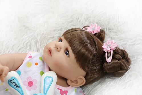 boneca reborn com toto lindo