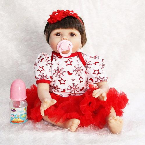 Silicone bebês reborn bonecas para meninas