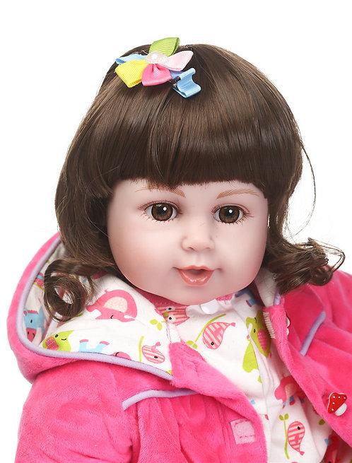 boneca bebê reborn adorável super linda fofa perfeita