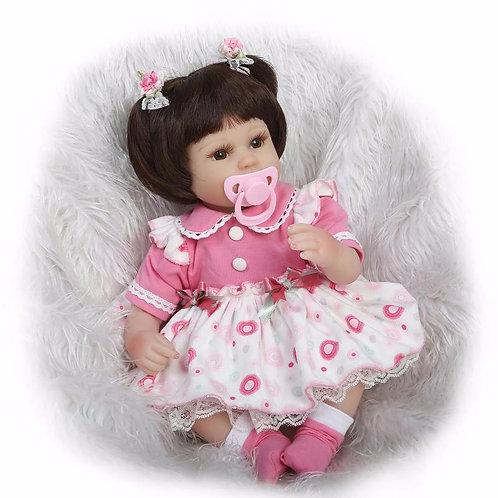 Bebe Reborn mais barata e linda 40 cm perfeita