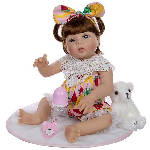 boneca reborn super linda silicone