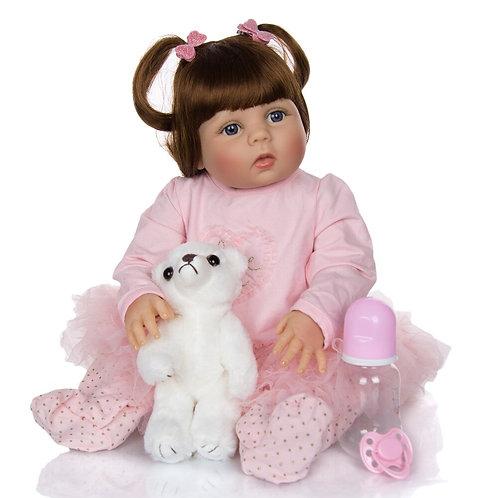 boneca reborn com lindo rostinho