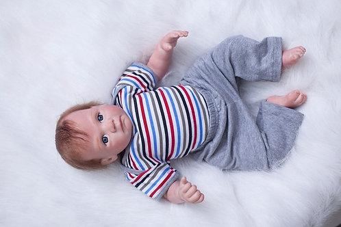 Bebê Reborn Menino Super Real