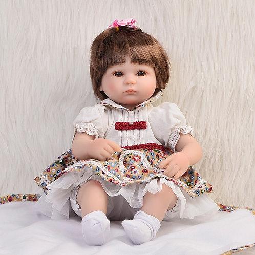 Bebê Reborn barata com vestido lindo
