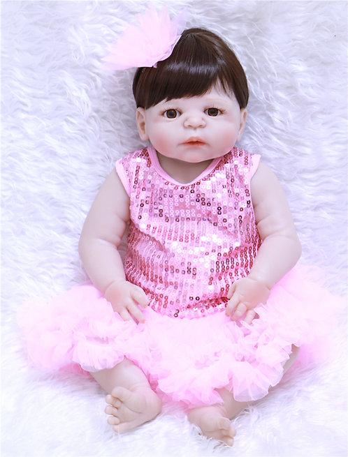 Boneca Reborn Bebe Reborn Realista Perfeita