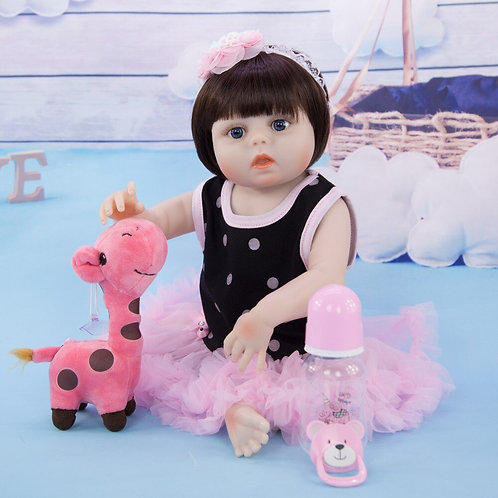 boneca de silicone bebê