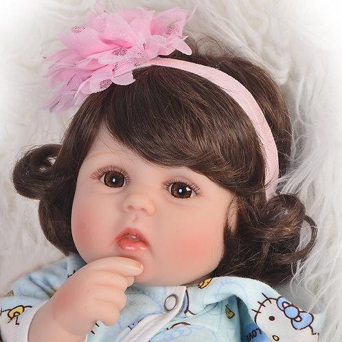 Bebê Reborn barata Cabelos Longos