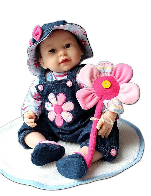 Silicone renascer baby bonecas bonitas