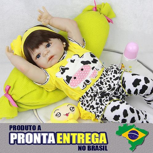 BONECA BEBE REBORN PRONTA ENTREGA LINDA