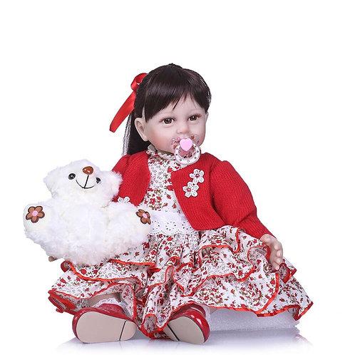 bebe real boneca reborn arrumada
