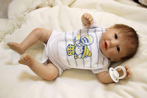 Bonecas reborn corpo de pano bebê 50 Cm