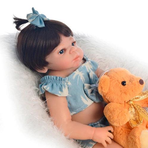boneca real de silicone