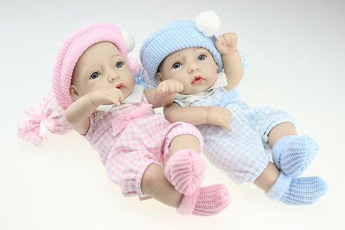 Gêmeos Bebe Reborn mini 2 pelo preço de 1