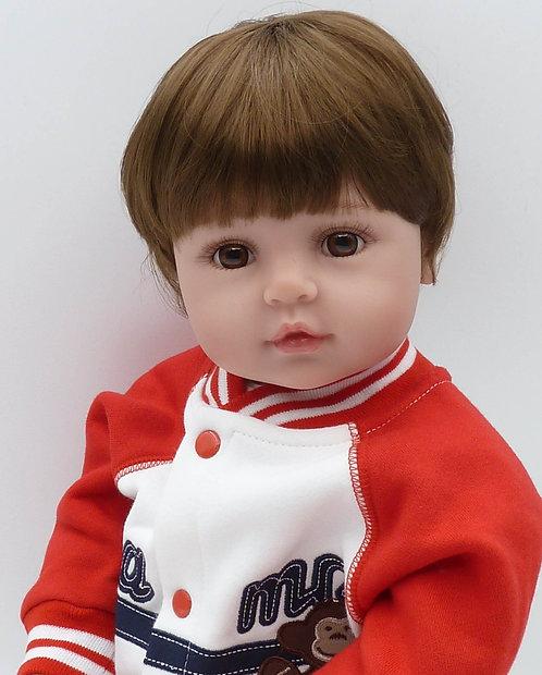 Bebe Reborn menino lindo 58 cm