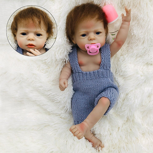 bebe reborn real toda em silicone realista