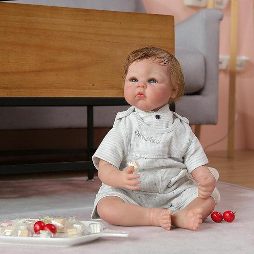 bebê reborn realista 50 cm