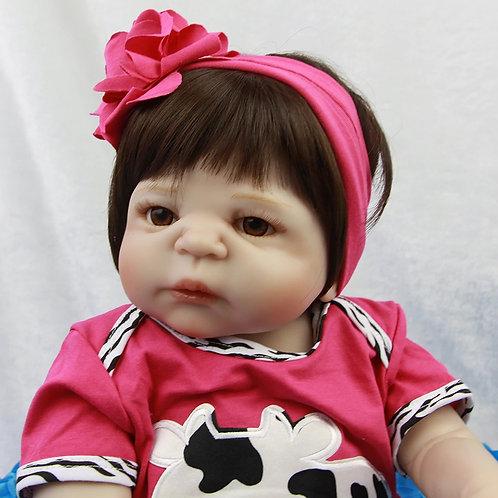 Bebe Reborn pode dar banho envio imediato SILICONE