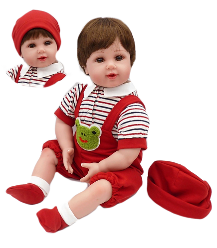 Silicone renascer Bebe Reborn menino