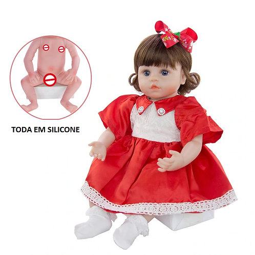 Bonecas Baratas toda em silicone Gabriela