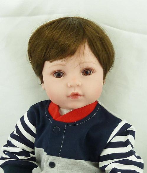 Boneca Bebê Reborn Real Menino