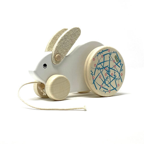 Bajo Large Bunny Pull Along Toy