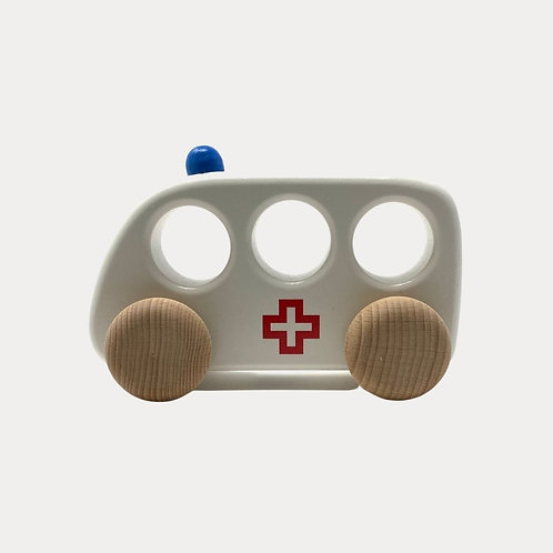 Bajo Ambulance Wooden Toy