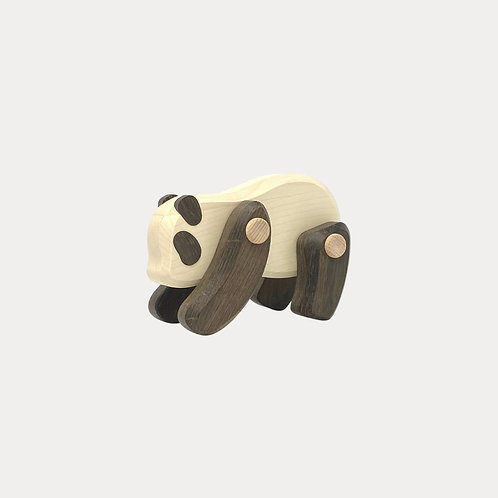 Bajo Panda Wooden Open Ended Toy for Children