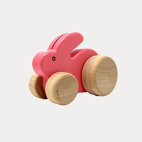 Bajo Small Rabbit Push Along for Children