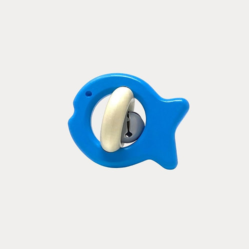 Bajo Fish Rattle. Natural rattle for babies
