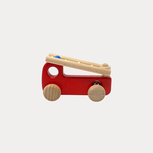 Bajo Wooden Fire Engine for toddlers