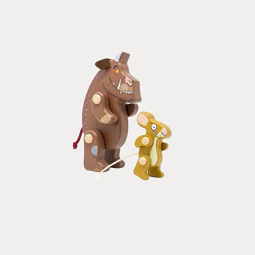 Bajo Gruffalo and Mouse Official Wooden Figures