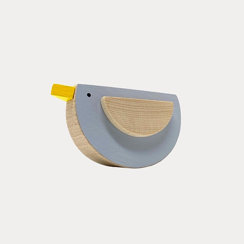 Wooden toy bird nursery accessories