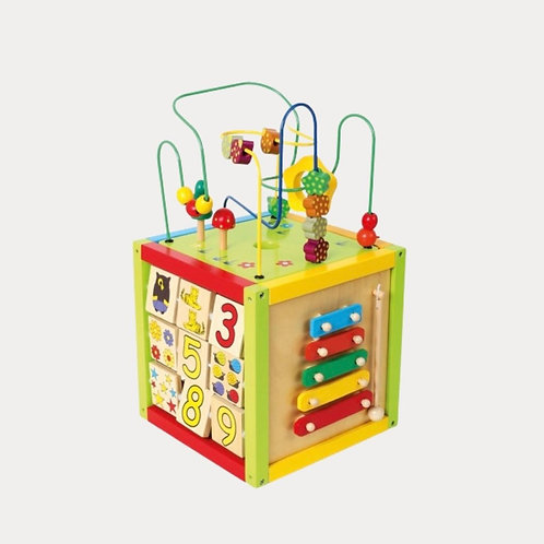 Activity Cube for Baby and Toddler