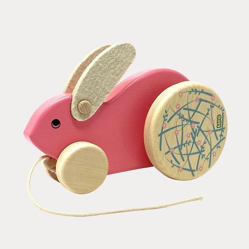 Bajo Big Rabbit Pull Along Toy
